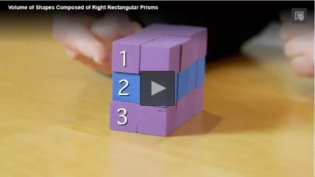 This volume of shapes video from PBS shows students a great illustration of how to find the volume. Check out all 13 activity ideas to make practicing volume of prisms & pyramids engaging and fun.