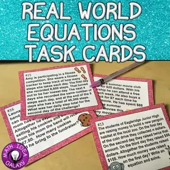 9 Magical Activities for Real World Equations Problems - Idea Galaxy