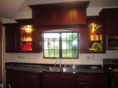 custom designed kitchen cupboard in trinidad and tobago
