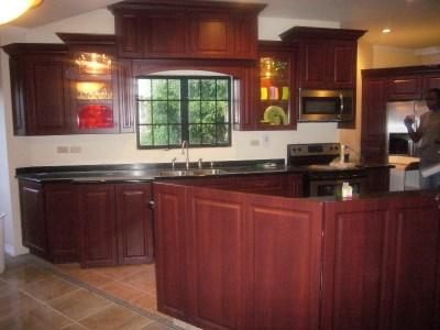 custom designed kitchen cupboards in trinidad and tobago