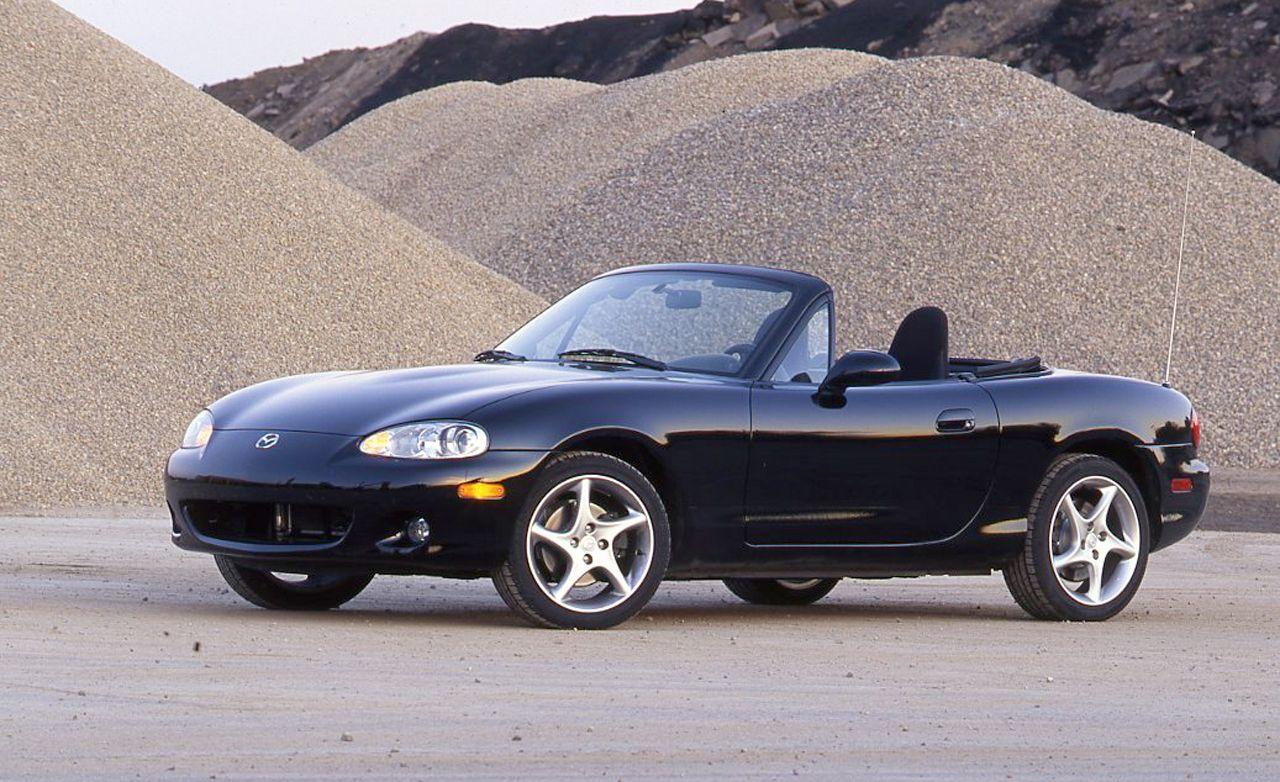 Black 2001 Mazda MX-5 Miata