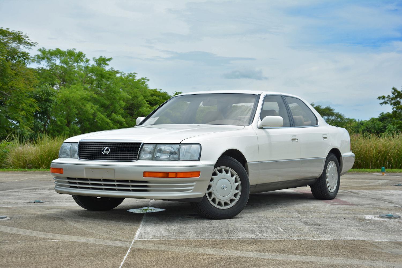 white 1994 lexus ls 400