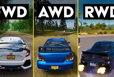 rwd fwd awd