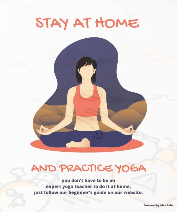 Stay at Home & practice Yoga