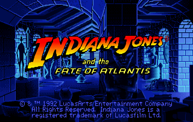 Quarterbin Follies #14: Indiana Jones and the Fate of Atlantis