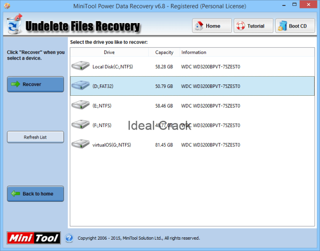 MiniTool Power Data Recovery 8 1 Serial +Patch+ Keygen with Serial