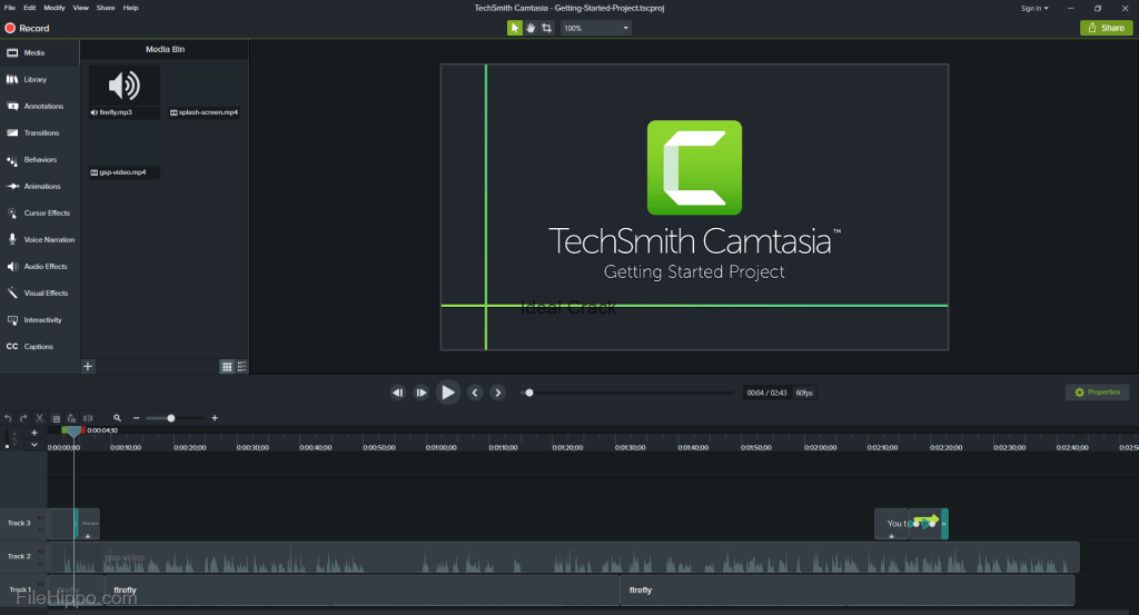 Techsmith Camtasia Working Keys + Crack Download