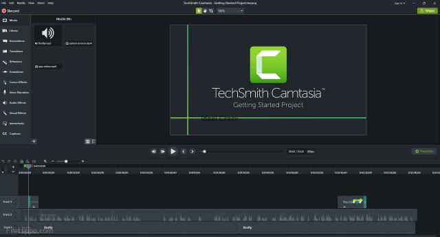 Camtasia Studio 2020 Crack With License Key Free Download