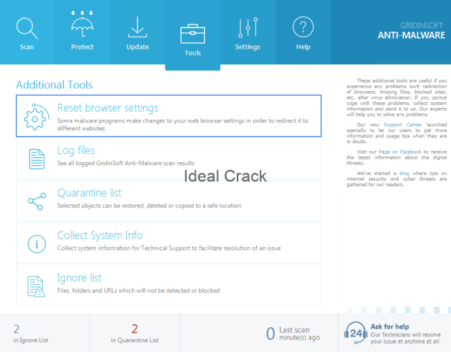 GridinSoft Anti-Malware Crack With License Key Free Download