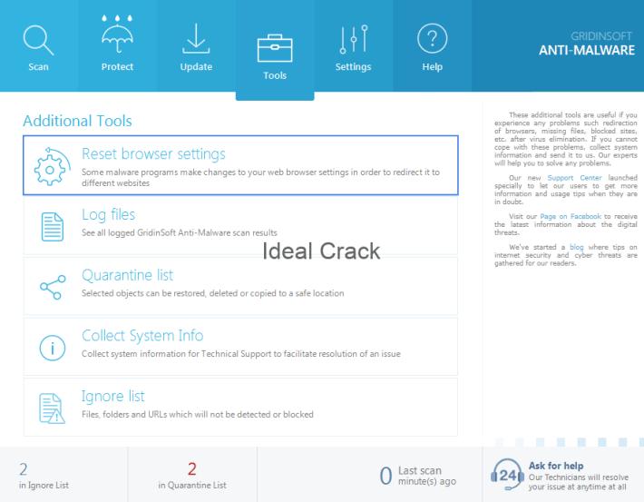 GridinSoft Anti-Malware 4.0.41 Crack With License Key Free 2019