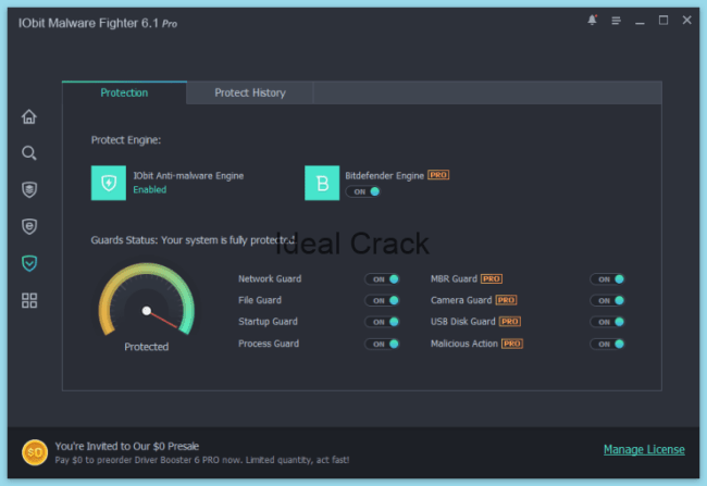 IObit Malware Fighter Pro  7.2.0.5739 Crack Key Full Download