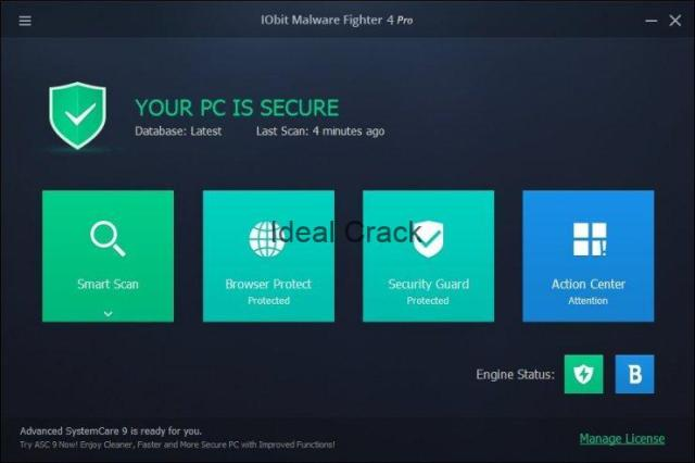 IObit Malware Fighter Pro 2020 Crack With Activation Key Full Free Download