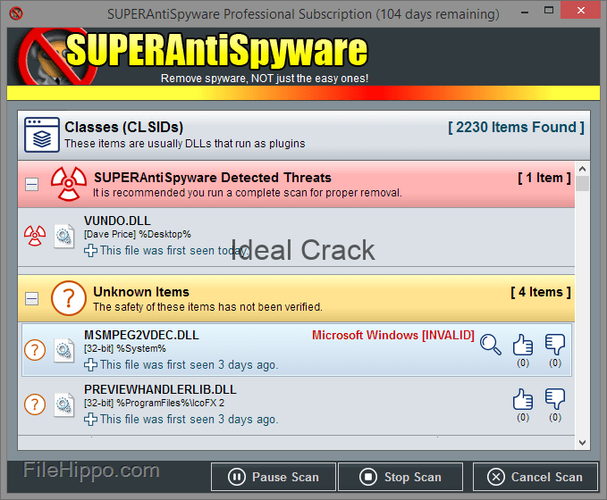 SUPERAntiSpyware Serial With Crack Key Database Download