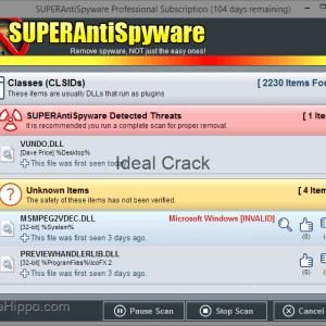 SUPERAntiSpyware Serial With Crack Key Database Download