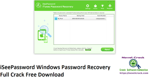 iSeePassword Windows Password Recovery Crack With Serial Key Free Download