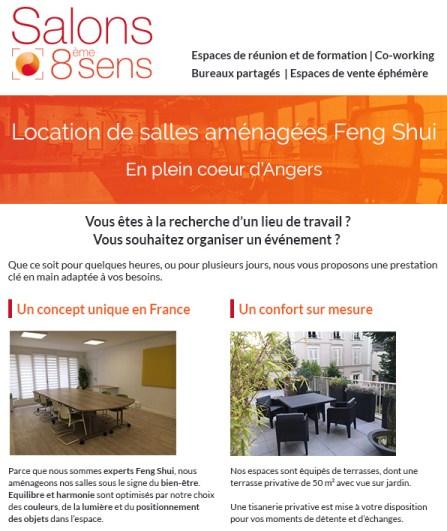 IDéales Communication Emailing Newsletter 8ème Sens