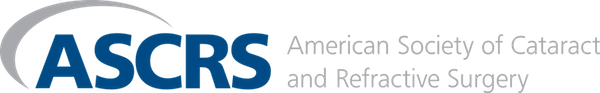 American Society of Cataract and Refractive Surgery logo