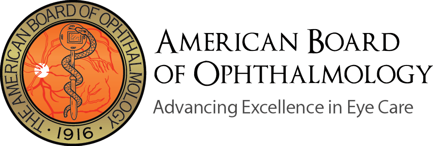American Board of Ophthalmology Certified