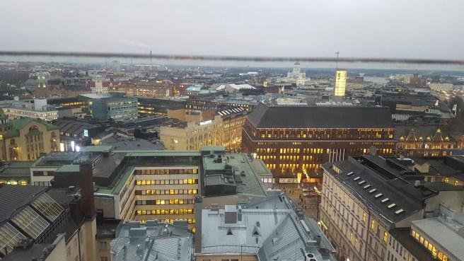 Ateljée bar provides a wide open scenery all over the Helsinki metropolitan area.