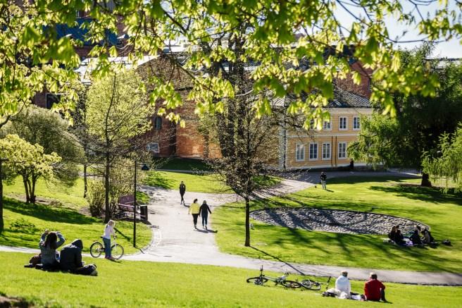 Sinebrychoff park. Photo: Kuvio, Helsinki Marketing