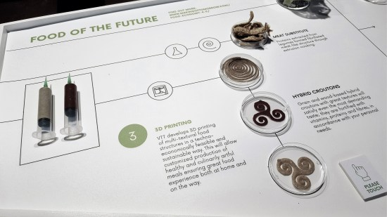 Food of the future.