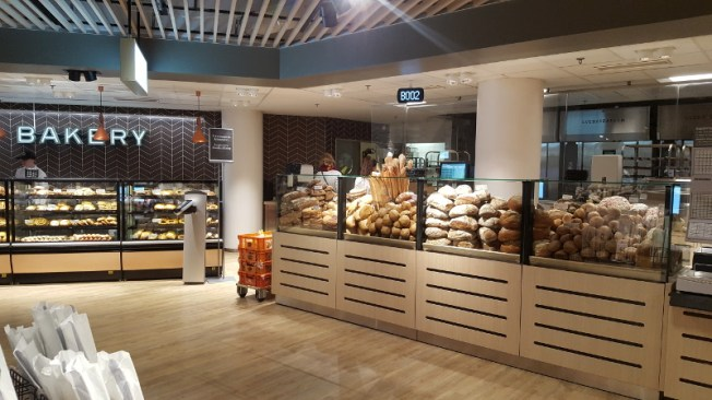 Stockmann Herkku Food Marketin Bakery. Kuva: Ideal Helsinki