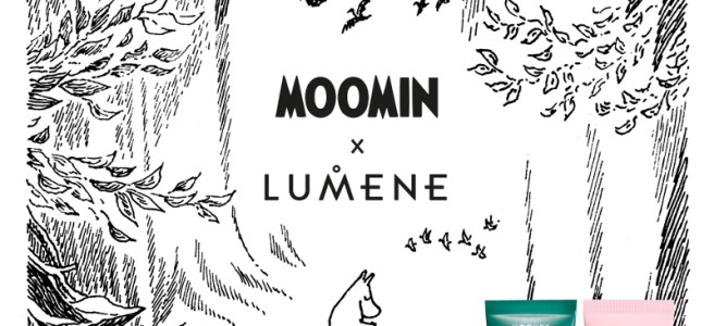 The new Lumene skin care formulaMoomin X Lumene