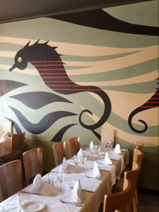 Sea Horse yleisnäkymä.