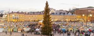 Tuomaan Markkinat - Helsinki Christmas Market overview