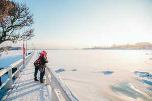 Winter in Kaivopuisto. Image: Jussi Hellsten / Helsinki Marketing