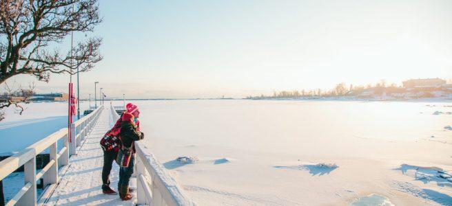 Winter in Kaivopuisto. Image: Jussi Hellsten / Helsinki Marketing