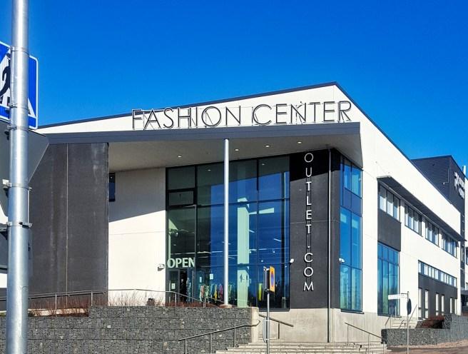 Fashion Center Ulkonäkymää.