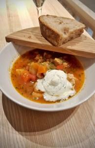Fish soup á la chef at Food Market Herkku Image: Ideal Helsinki