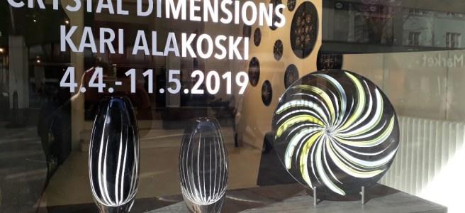 Crystal Dimensions -näyttely - Galleria Mafka & Alakoski. Kuva: Pia Maria Montonen