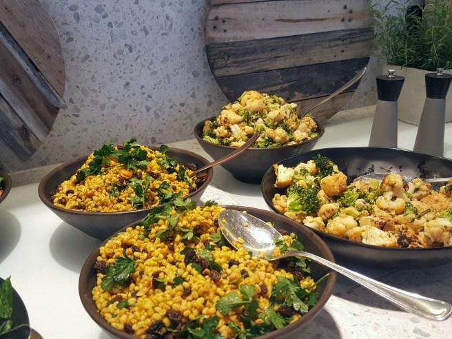 Erilaiset sharing-annokset ovat ravintola Platan erikoisuus.