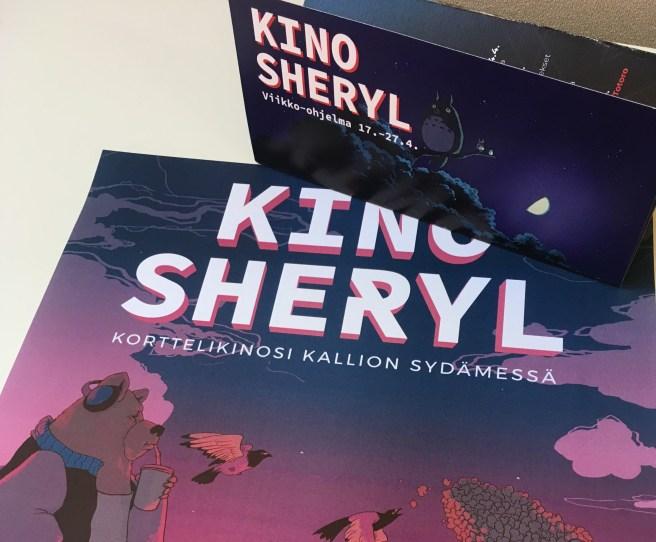 Kino Sherylin uusittu graafinen ilme. Kuva: Kino Sheryl.