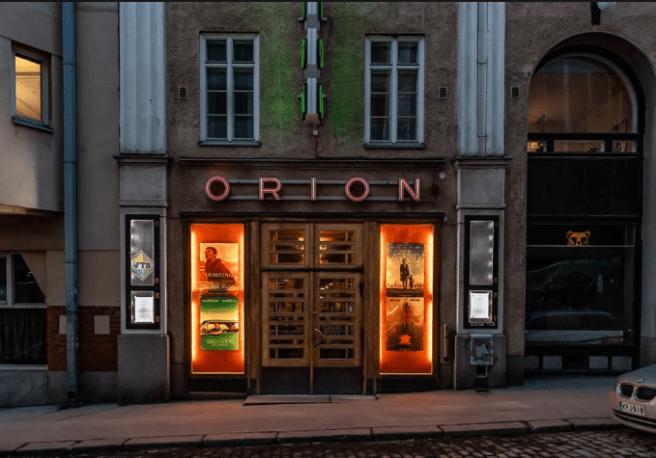 Orion Eerikinkadulla. Kuva: Mikko Lyytikäinen / Orion.