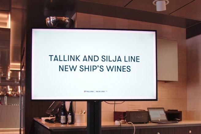 Tallink Silja Line esitteli toukokuussa uudet Laivan viinit