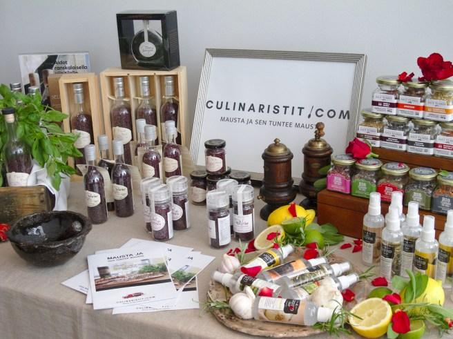 Culinaristit.comin laaja valikoima on nähtävillä verkkokaupassa.  Kuva: Ideal Helsinki.