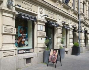 Kalevala Jewellery flagship store in Helsinki.