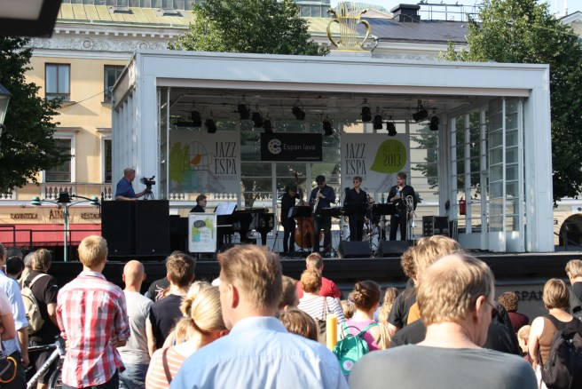 Jazz music at Jazz-Espa concert on Espa stage. Image: Savoy theater / Kulttuuri Helsinki.