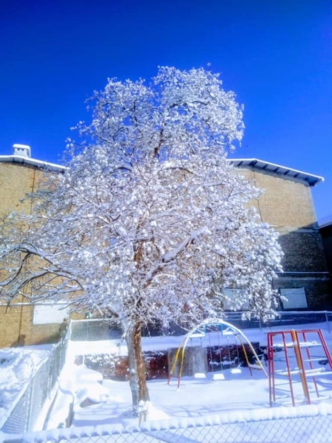Lower Topa snowfall