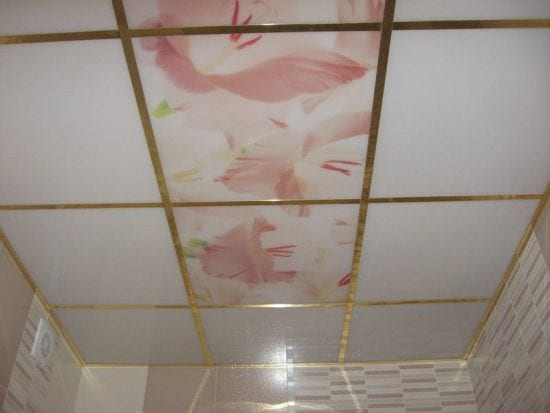 Siding soffitto in cucina