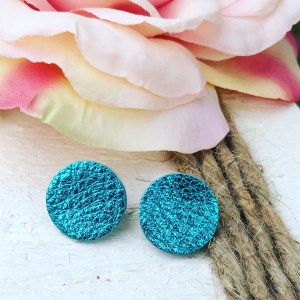 Metallic Turquoise Buttons Collection