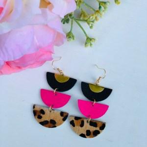 Cheetah with Pink Demi Collection