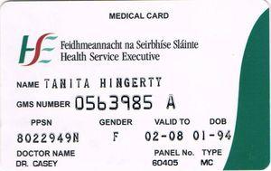 ireland medical card