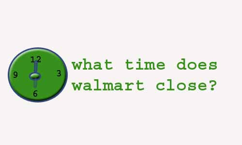 what time does Walmart pharmacy close