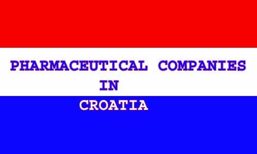 Top pharmaceutical companies in Croatia