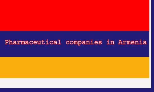 pharmaceutical companies in Armenia