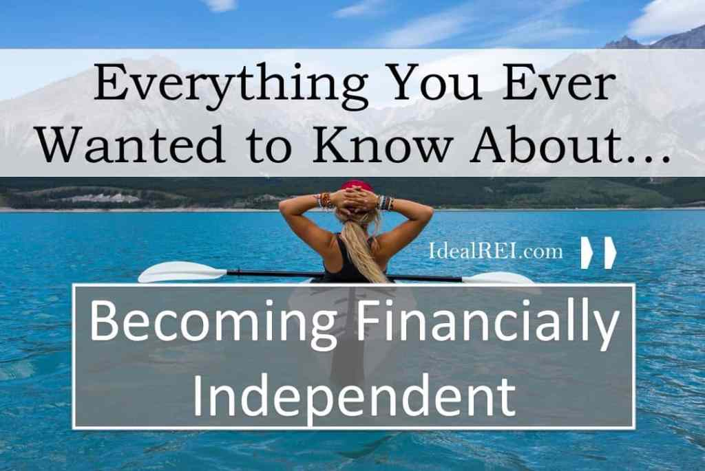 Becoming Financially independent